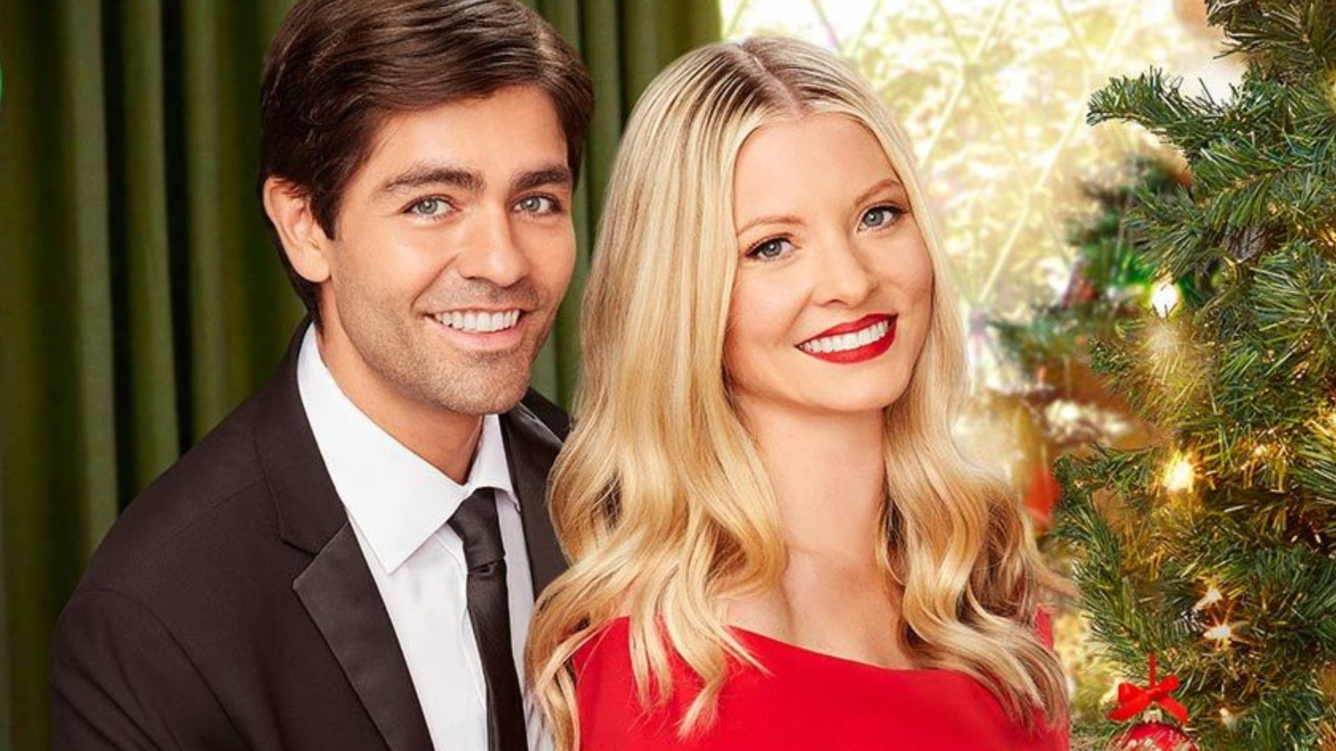 Adrian Grenier and Kaitlin Doubleday, Christmas at Graceland