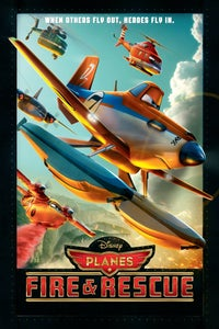 Planes: Fire & Rescue as Harvey