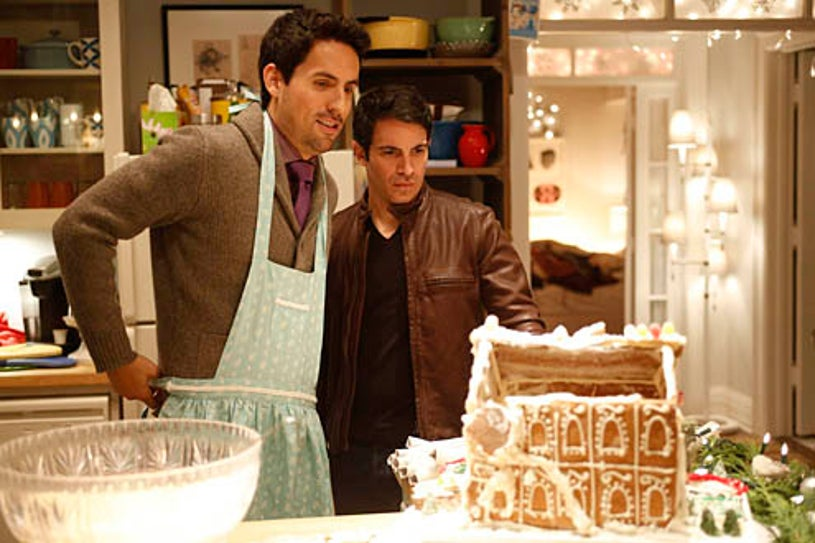 """The Mindy Project - Season 1 - """"Josh and Mindy's Christmas Party"""" - Ed Weeks, Chris Messina"""