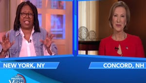 """VIDEO: Carly Fiorina and The View Hosts Clash Over """"Demented"""" Face Comment"""