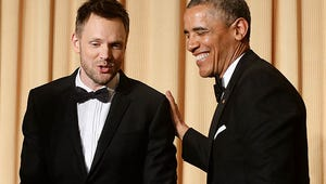VIDEO: Veep Meets Veep at White House Correspondents' Dinner