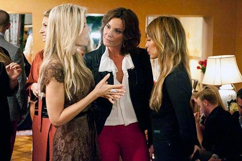 """Real Housewives of New York City - Season 5 - """"A New New York"""" - Aviva Drescher, LuAnn de Lesseps and Carole Radziwell"""