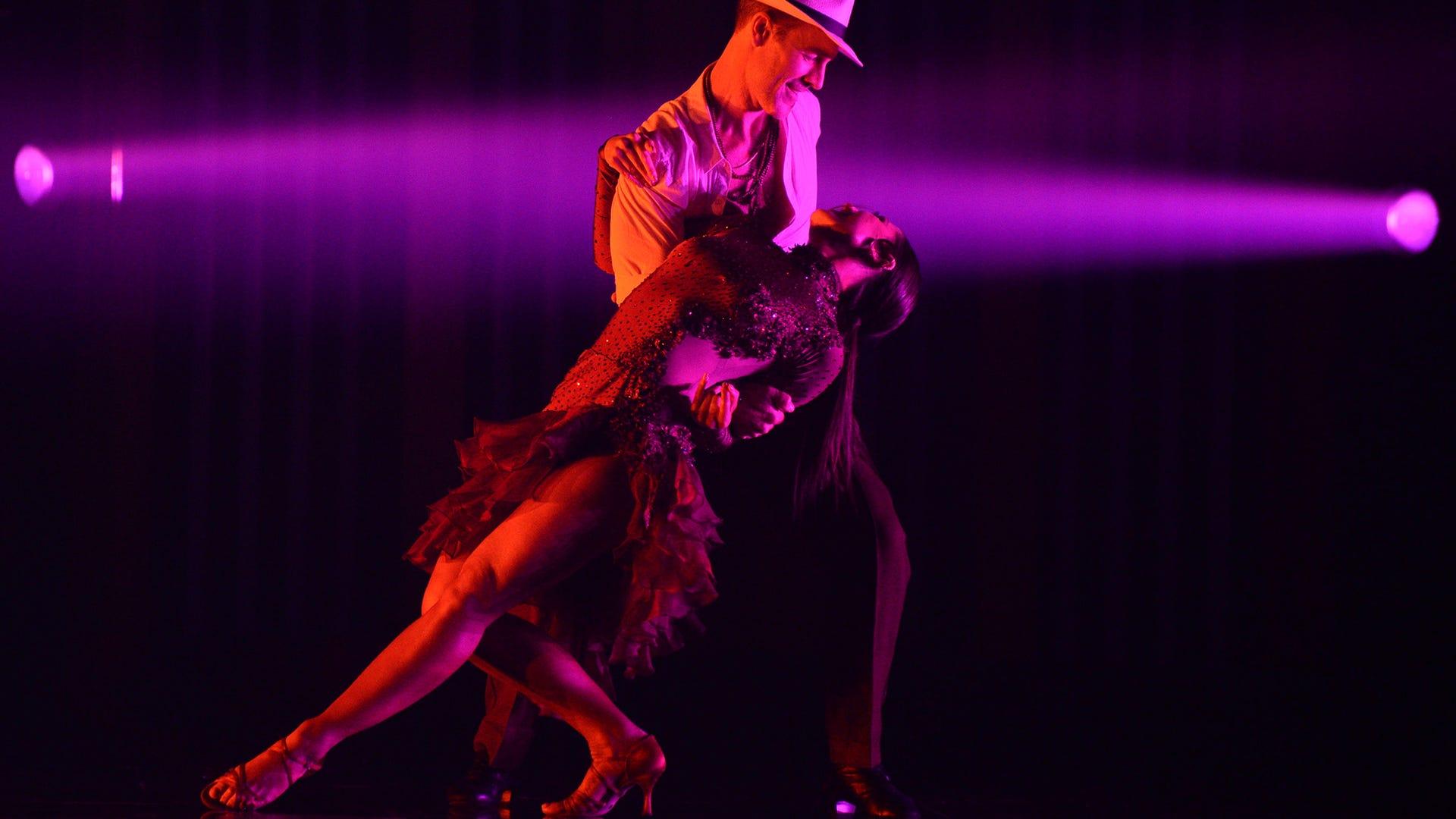 James Van Der Beek and Emma Slater, Dancing With the Stars