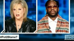 VIDEO: Nancy Grace Got Smoked By Rapper 2 Chainz While Debating Pot Legalization