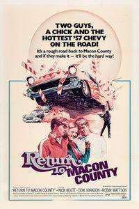 Return to Macon County as Harley McKay