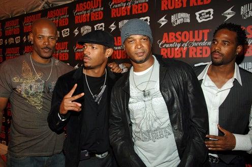 Keenen Ivory Wayans, Shawn Wayans, Marlon Wayans and Damon Wayans - Pre-VMA Party, Aug. 2006