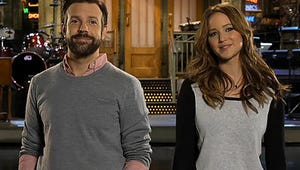 VIDEO: Jennifer Lawrence Trashes Oscar Rivals, Busts Some Bad Rhymes on SNL