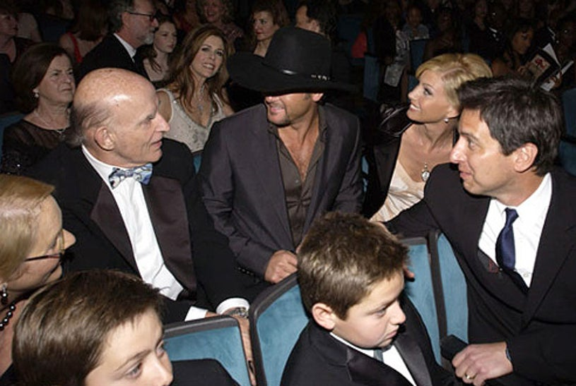 Peter Boyle, Tim McGraw, Faith Hill and Ray Romano - 29th Annual People's Choice Awards