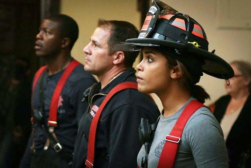 "Chicago Fire - Season 3 - ""The Nuclear Option"" - Monica Raymumd"