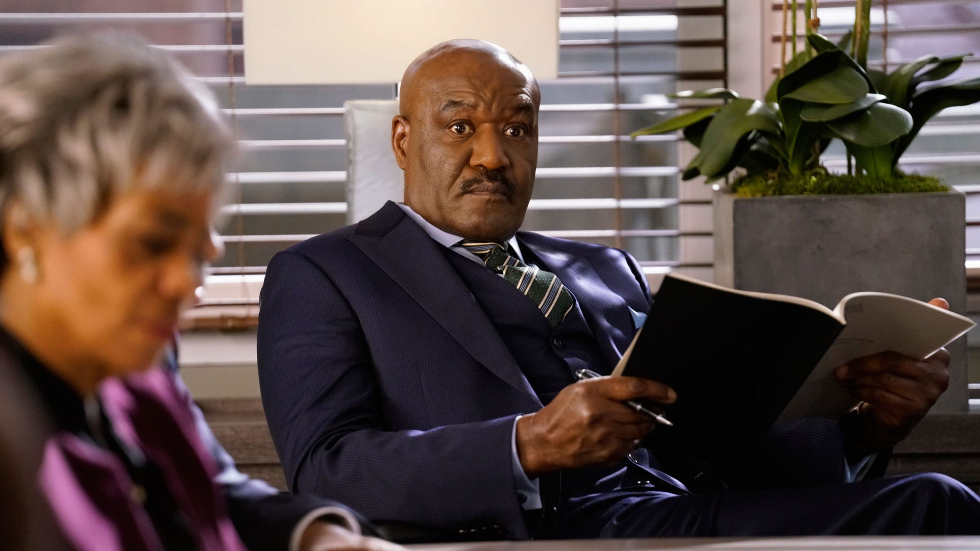 Delroy Lindo, The Good Fight