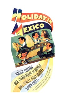 Holiday in Mexico as Christine Evans