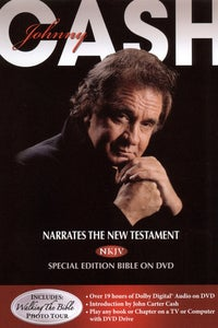 Johnny Cash Narrates The New Testament - NKJV Special Edition Bible on DVD