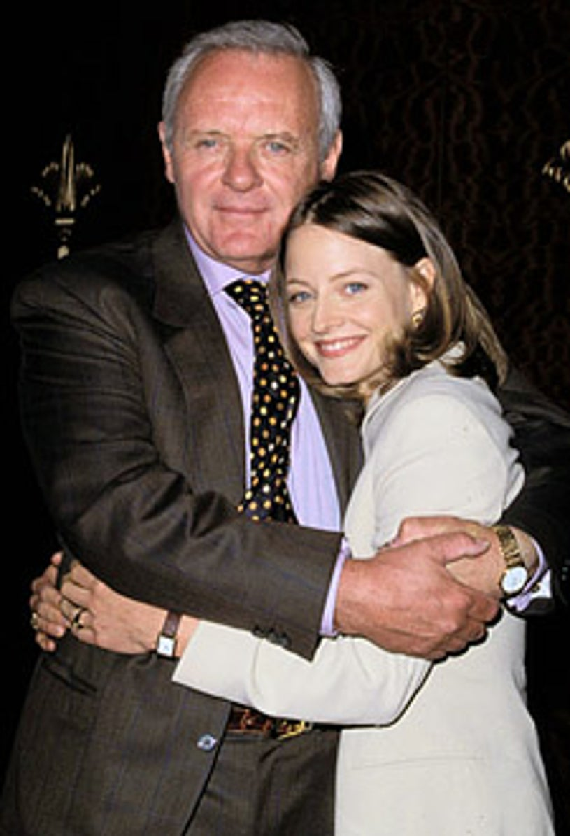 Sir Anthony Hopkins & Jodie Foster - 20th Annual Crystal Awards