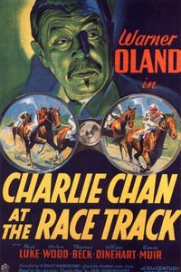 Charlie Chan at the Race Track as Chief of Police