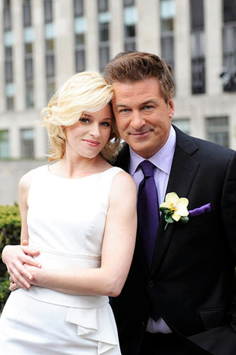 """30 Rock - Season 6 - """"What Will Happen to the Gang Next Year?"""" -  Elizabeth Banks and Alec Baldwin"""