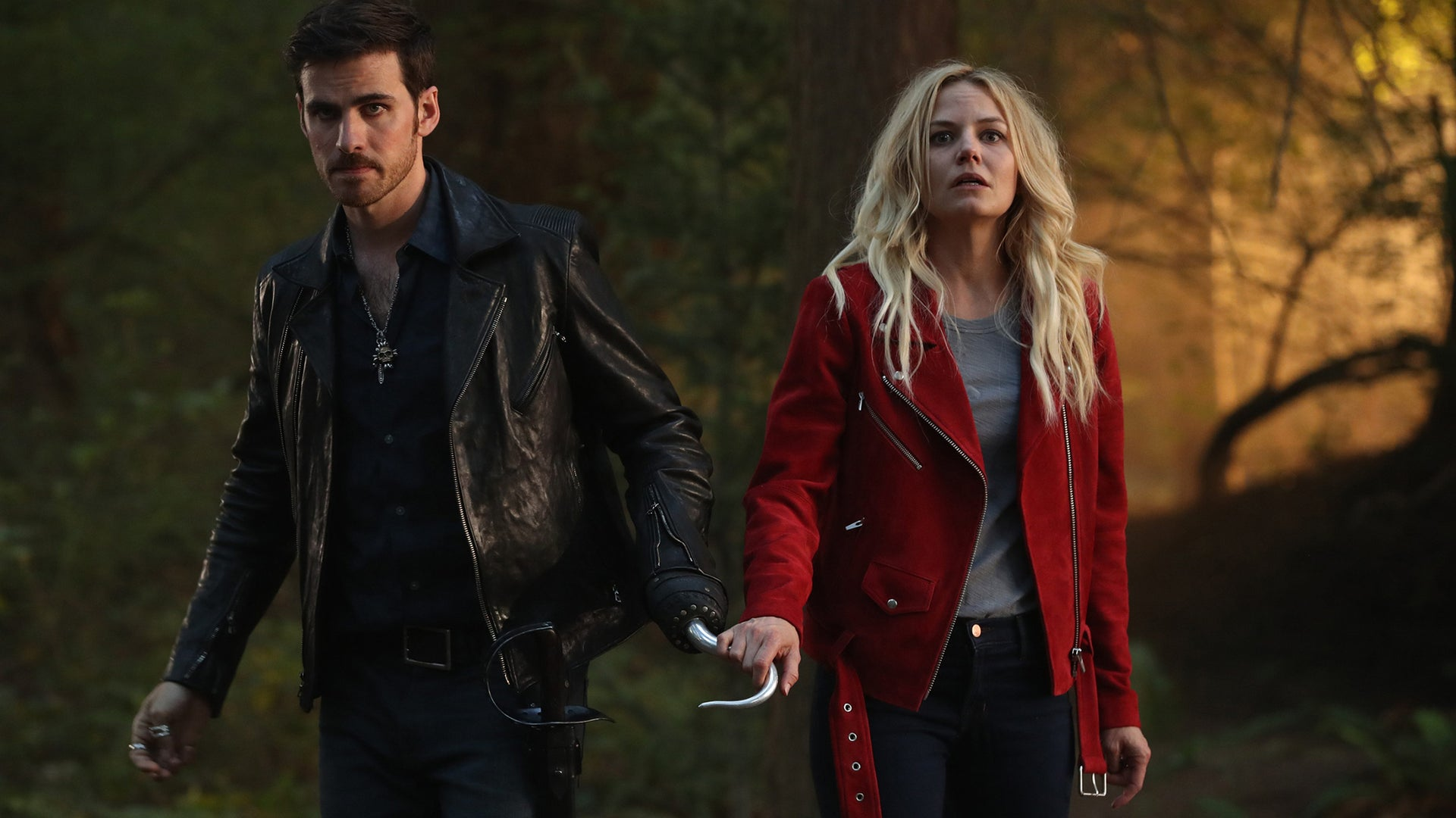 Colin O'Donoghue and Jennifer Morrison, Once Upon a Time