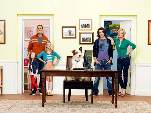 Dog with a Blog - Season 1 -  Francesca Capaldi, Regan Burns, G. Hannelius, Blake Michael and Beth Littleford