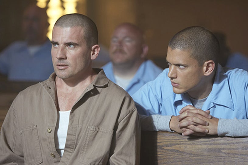 Prison Break - Wentworth Miller and Dominic Purcell