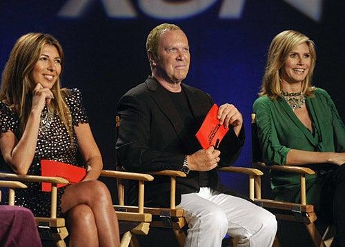 Project Runway - Season 7 - Episode 1: Back to New York - Nina Garcia, Michael Kors and Heidi Klum