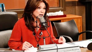 Hot in Cleveland Exclusive: Valerie Bertinelli Gets Tongue-Tied Over George Clooney (Sort Of)