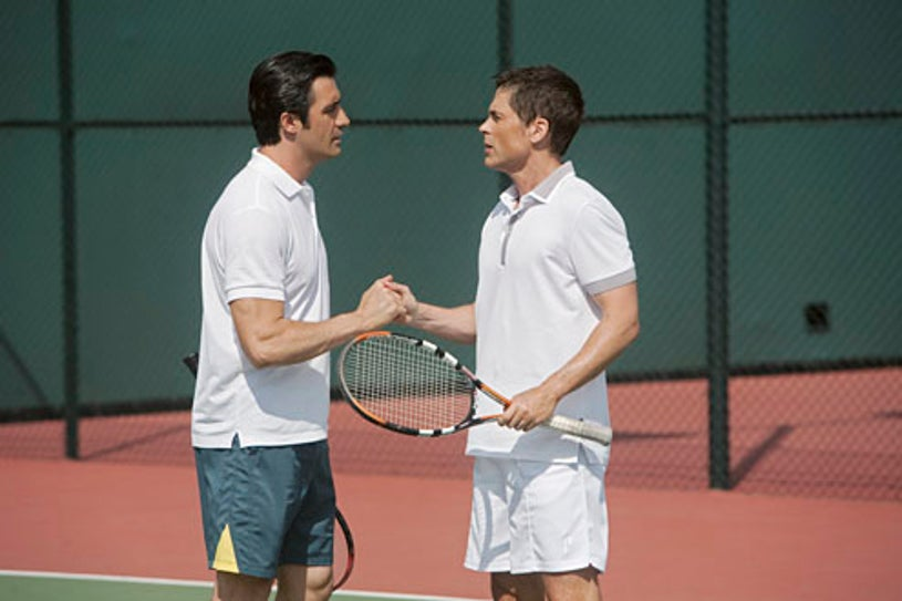 """Brothers & Sisters - Season 4 - """"Love All"""" - Gilles Marini and Rob Lowe"""