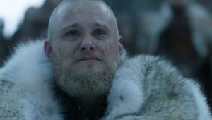 Bjorn Says Goodbye to Vikings' Latest Victim in This Funeral Sneak Peek