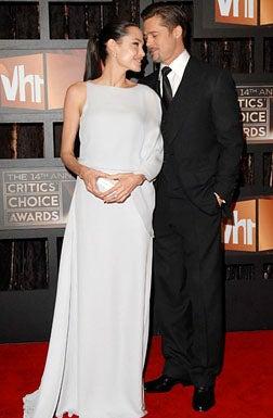 Angelina Jolie and Brad Pitt - VH1's 14th Annual Critics' Choice Awards in Santa Monica, January 8, 2009