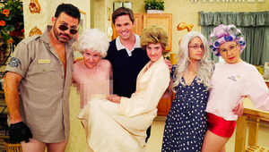 Jimmy Kimmel Gives Us the Golden Girls Skit We Should Have Seen Coming