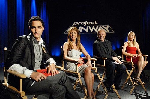 "Project Runway - Season 4 - ""Eye Candy"" - Zac Posen, Nina Garcia, Michael Kors, Heidi Klum"