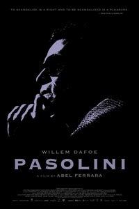 Pasolini as Pier Paolo Pasolini