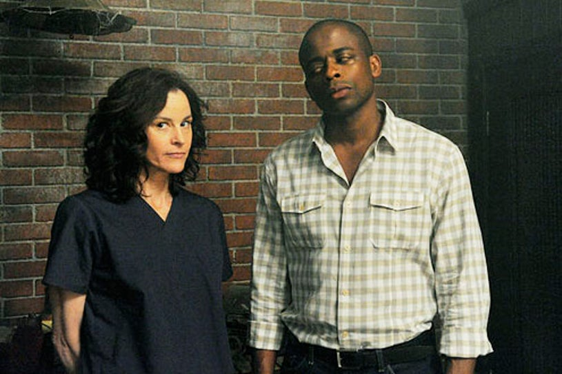 """Psych - Season 7 - """"Psych The Musical"""" - Ally Sheedy and Dule Hill"""