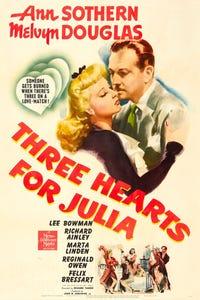 Three Hearts for Julia as Bartender