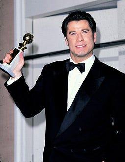 John Travolta - The 53rd Annual Golden Globe Awards, January 21, 1996