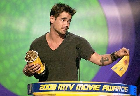 Colin Farrell - 2003 MTV Movie Awards