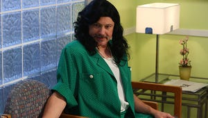 Speechless Exclusive: Rob Corddry Is in Drag for Thanksgiving