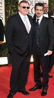 Brendan Gleeson and Colin Farrell - The 66th Annual Golden Globe Awards, January 11, 2009