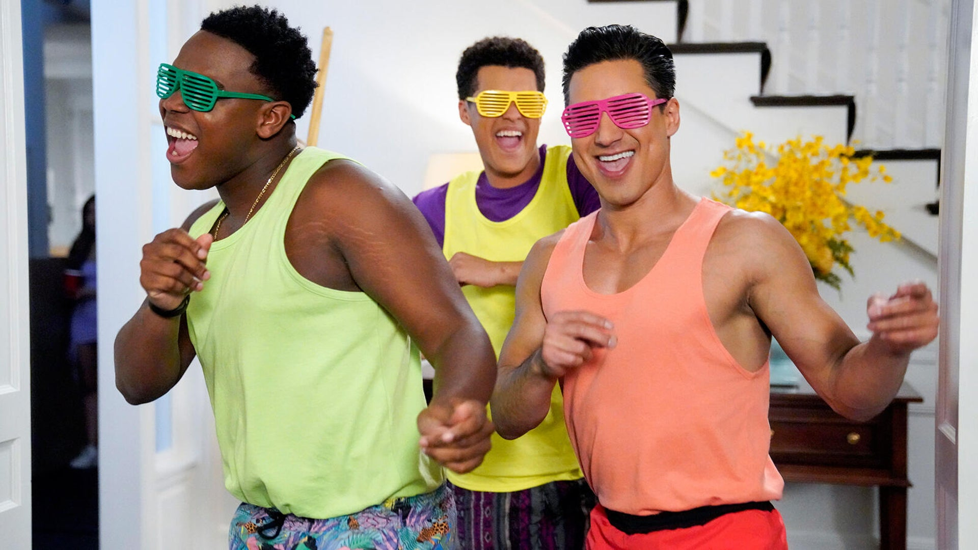 Dexter Darden, DeShawn Cavanaugh, and Mario Lopez, Saved by the Bell