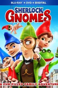 Sherlock Gnomes as Mrs. Bluebury