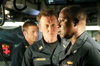"Last Resort - Season 1 - ""Pilot"" - Scott Speedman, Robert Patrick and Andre Braugher"
