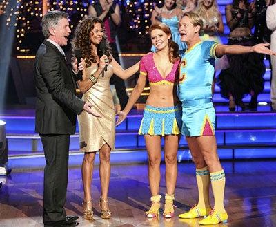 Dancing With The Stars - Season 13 - Tom Bergeron, Brooke Burke, Anna Trebunskaya and Carson Kressley