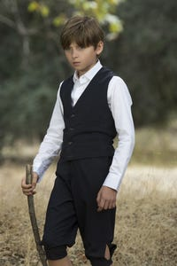Oliver Bell as Christopher Robin