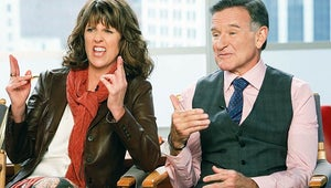 Mork & Mindy Stars Robin Williams and Pam Dawber Reunite for The Crazy Ones
