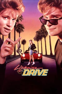 License to Drive as Mercedes