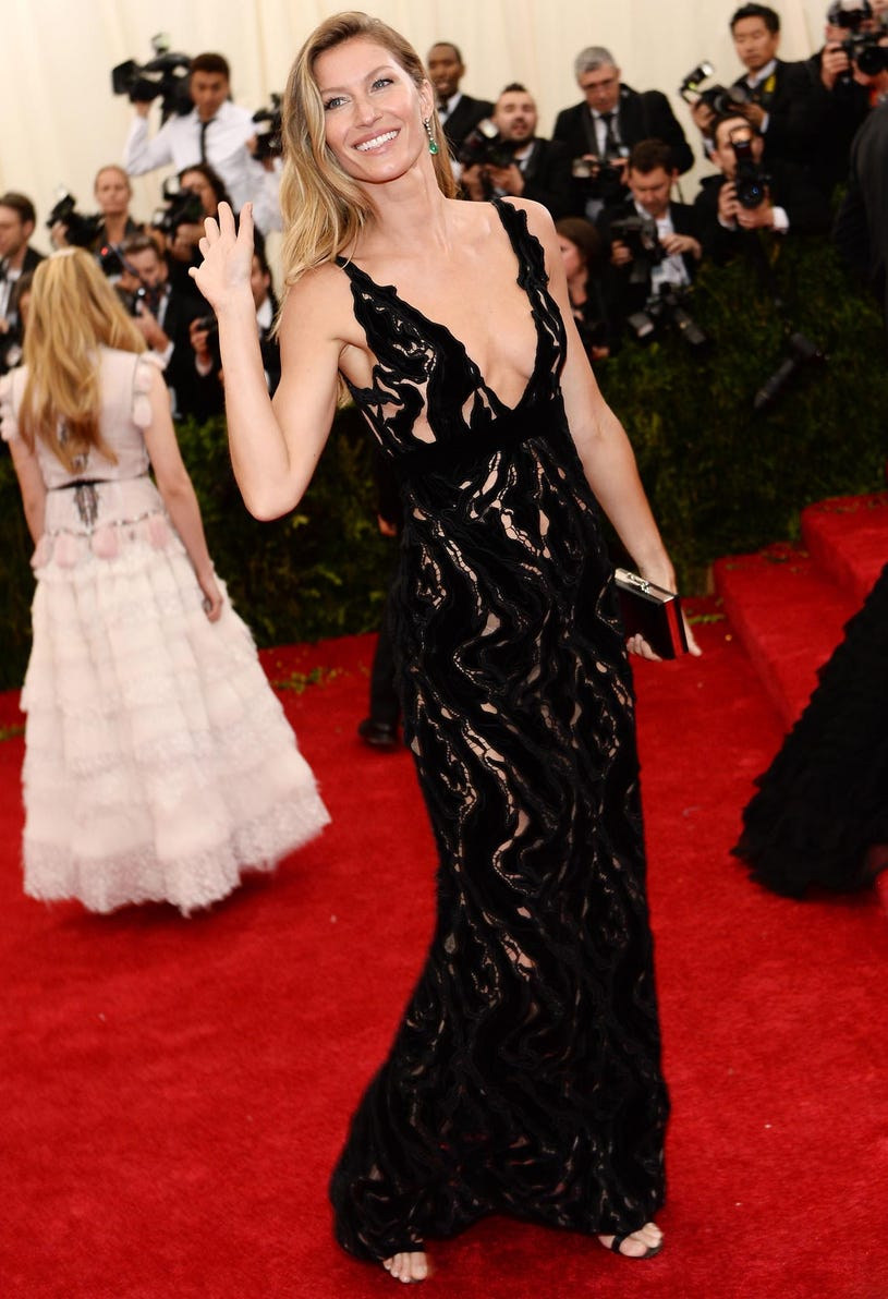 """Gisele Bundchen - """"Charles James: Beyond Fashion"""" Costume Institute Gala at the Metropolitan Museum of Art in New York City, May 5, 2014"""