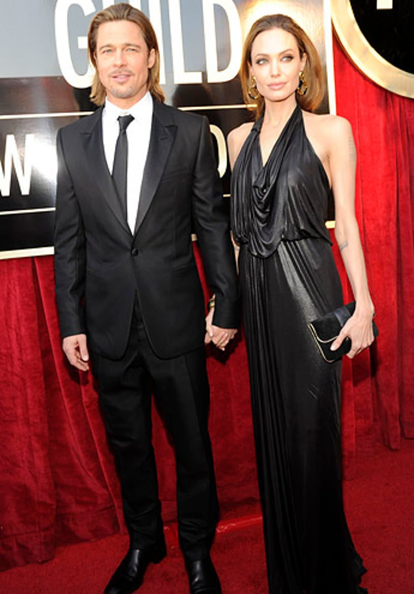 Brad Pitt and Angelina Jolie - The 18th Annual Screen Actors Guild Awards in Los Angeles, January 29, 2012