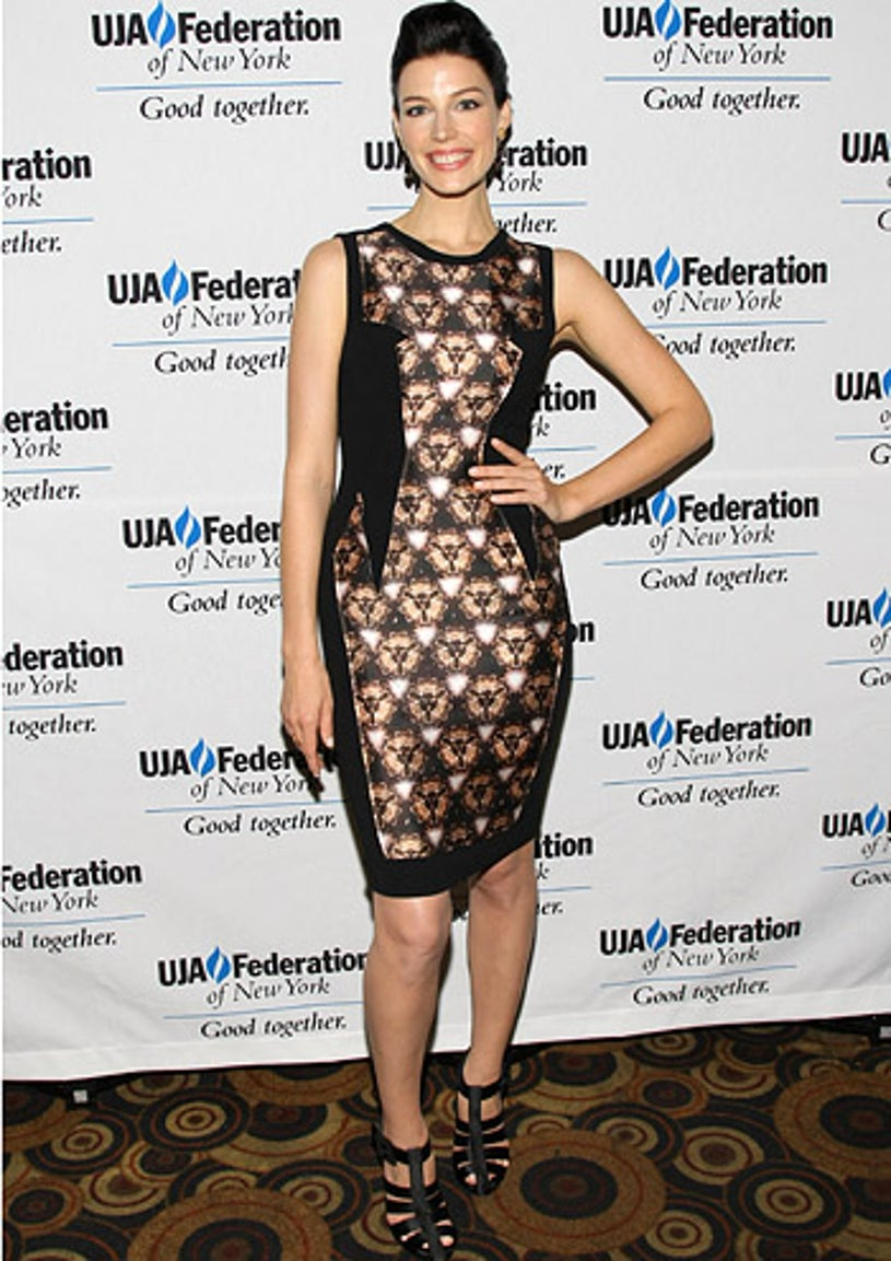 Jessica Pare - UJA-Federation of New York's 2012 Broadcast, Cable and Video Award Celebration in New York City, June 7, 2012