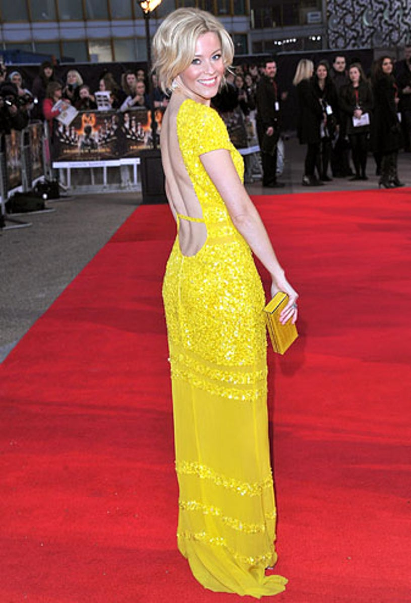 Elizabeth Banks - The European premiere of The Hunger Games in London, March 14, 2012