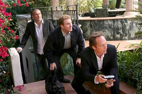 "Prison Break - Season 4 - ""Vs."" - Dominic Purcell, Michael Rapaport and William Fichtner"