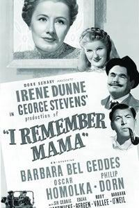 I Remember Mama as Man