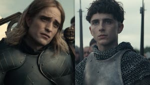 Timothée Chalamet and Robert Pattinson Go to War in Full The King Trailer